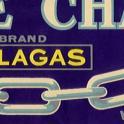 white chain label