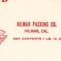 Hilmar Packing Co 1 5 1923