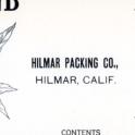Hilmar Packing Co 2 1 1924