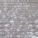 Ranch house plaque